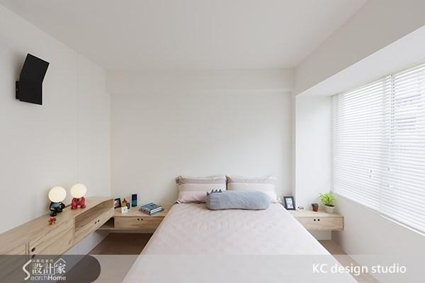 20坪中古屋(5~15年)_北歐風臥室案例圖片_KC design studio 均漢設計_KC_02之9