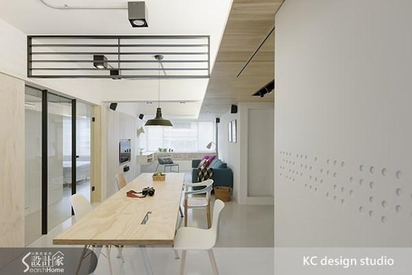 20坪中古屋(5~15年)_北歐風客廳餐廳案例圖片_KC design studio 均漢設計_KC_02之6