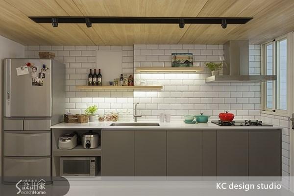 20坪中古屋(5~15年)_北歐風廚房案例圖片_KC design studio 均漢設計_KC_02之7