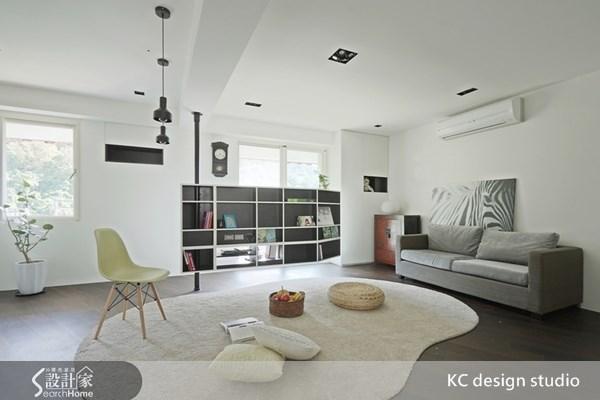 24坪中古屋(5~15年)_簡約風客廳案例圖片_KC design studio 均漢設計_KC_03之4