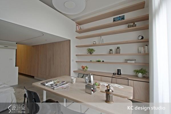 11坪新成屋(5年以下)_北歐風餐廳案例圖片_KC design studio 均漢設計_KC_04之8