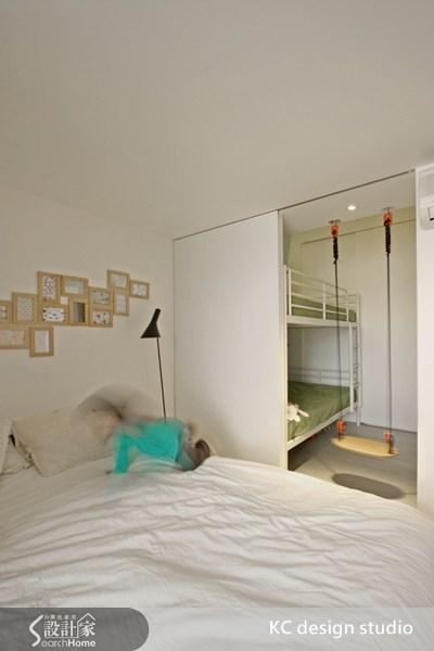 11坪新成屋(5年以下)_北歐風臥室案例圖片_KC design studio 均漢設計_KC_04之12