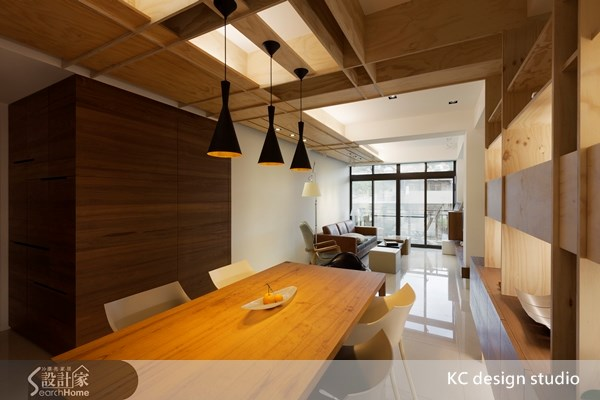 30坪新成屋(5年以下)_人文禪風客廳餐廳案例圖片_KC design studio 均漢設計_KC_05之8
