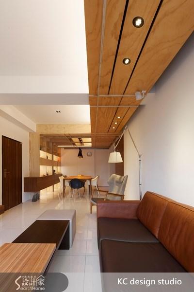 30坪新成屋(5年以下)_人文禪風玄關客廳餐廳案例圖片_KC design studio 均漢設計_KC_05之2