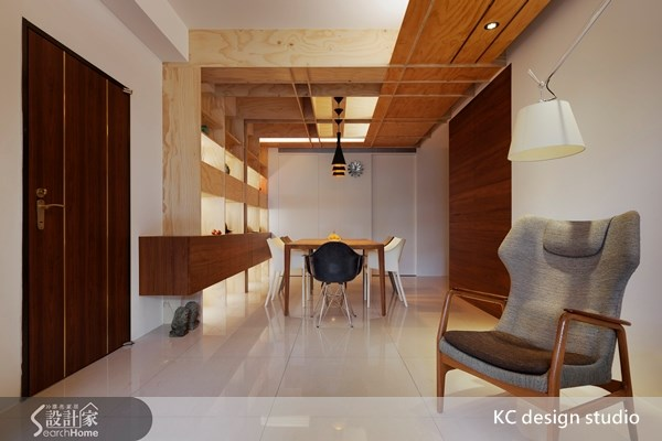 30坪新成屋(5年以下)_人文禪風玄關餐廳案例圖片_KC design studio 均漢設計_KC_05之1