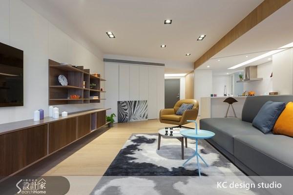 35坪老屋(16~30年)_現代風玄關客廳案例圖片_KC design studio 均漢設計_KC_06之3
