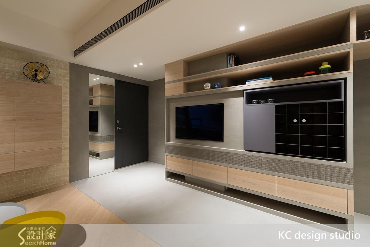 24坪中古屋(5~15年)_混搭風客廳案例圖片_KC design studio 均漢設計_KC_10之2