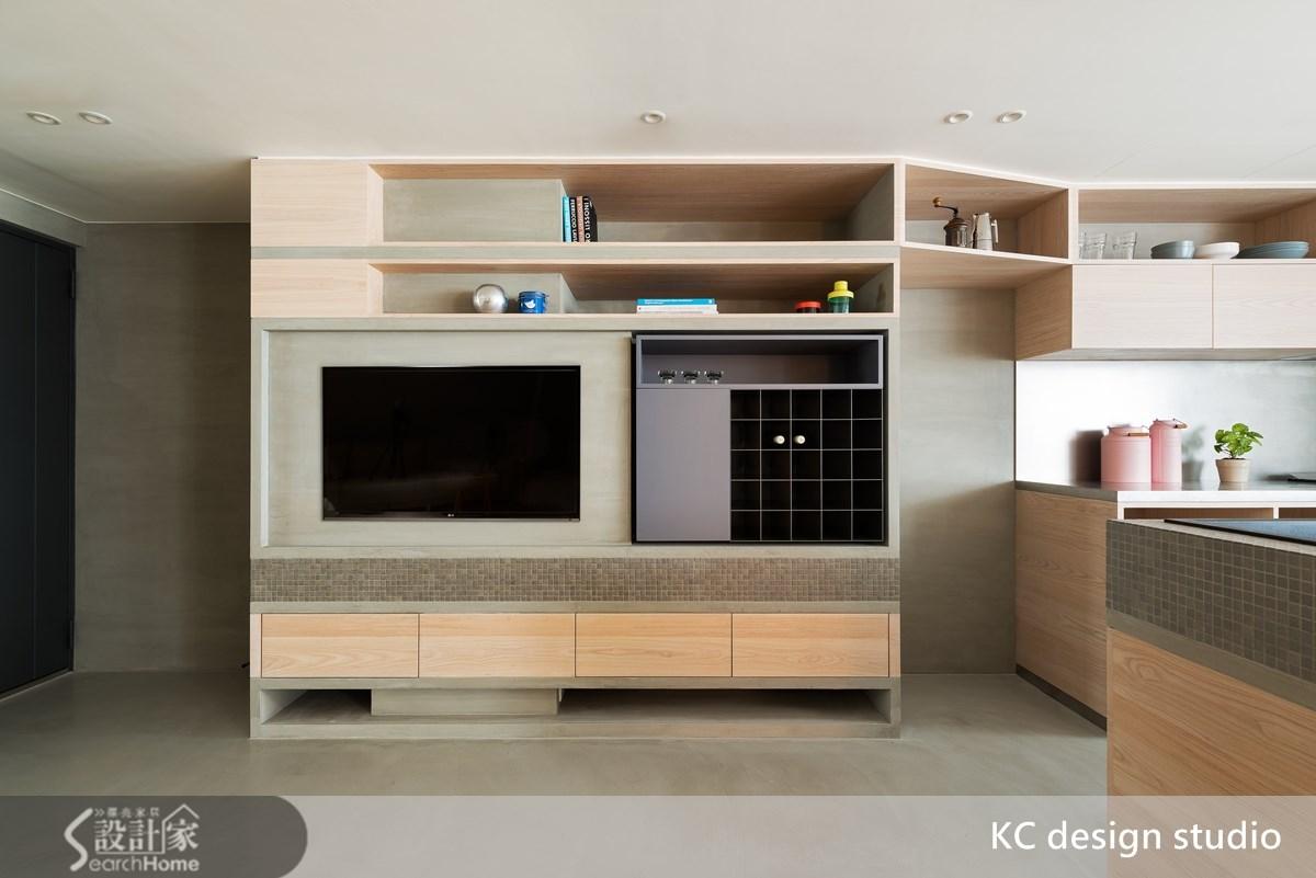 24坪中古屋(5~15年)_混搭風客廳案例圖片_KC design studio 均漢設計_KC_10之3