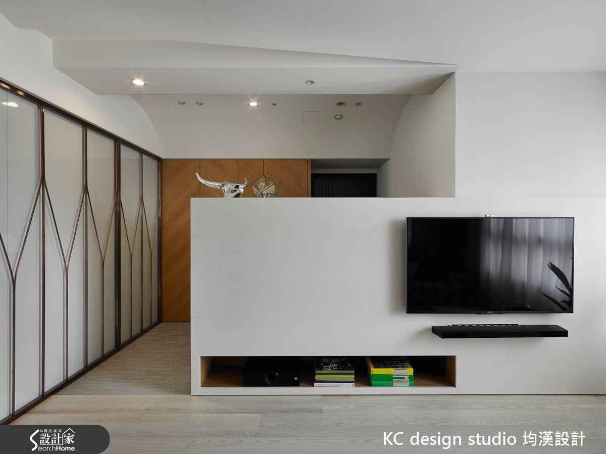 27坪新成屋(5年以下)_現代風客廳案例圖片_KC design studio 均漢設計_KC_13之2