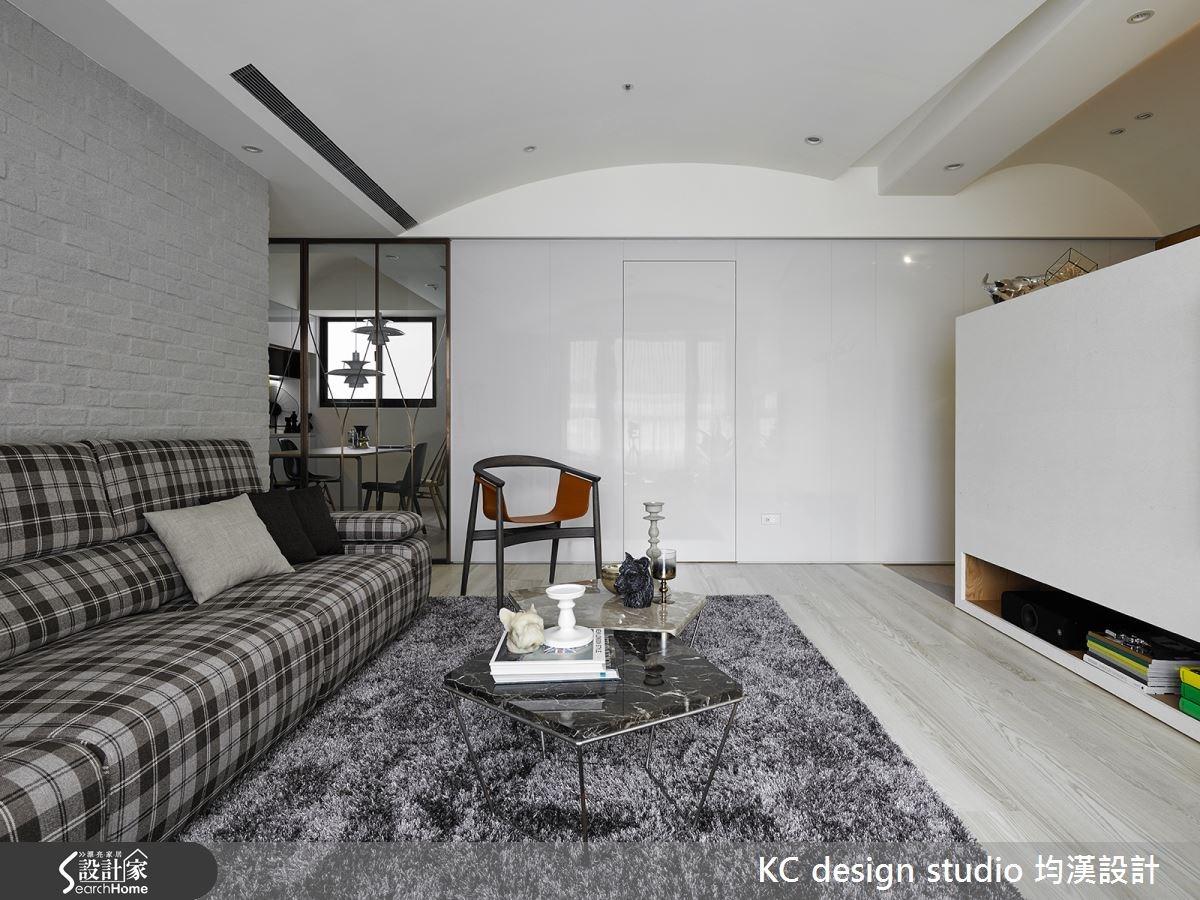 27坪新成屋(5年以下)_現代風客廳案例圖片_KC design studio 均漢設計_KC_13之4