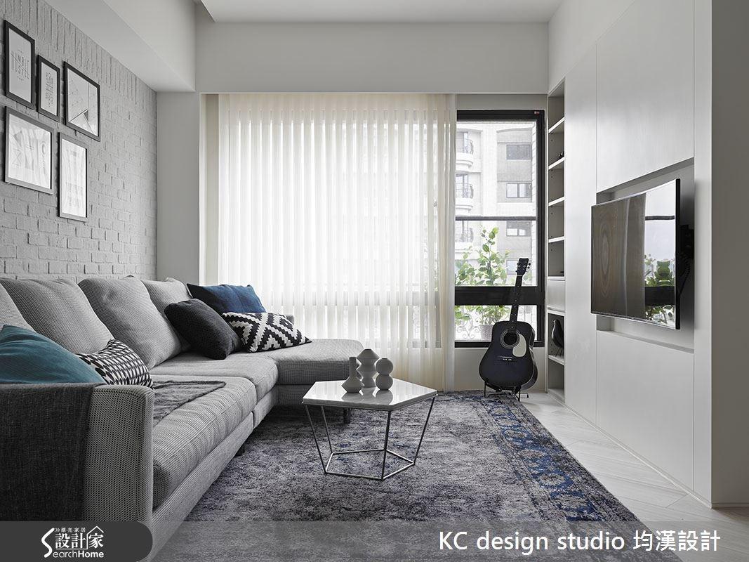 19坪中古屋(5~15年)_北歐風客廳案例圖片_KC design studio 均漢設計_KC_14之4