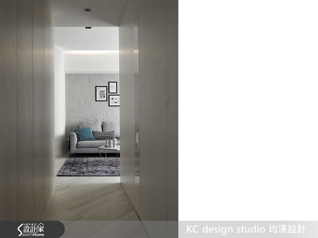19坪中古屋(5~15年)_北歐風走廊案例圖片_KC design studio 均漢設計_KC_14之5