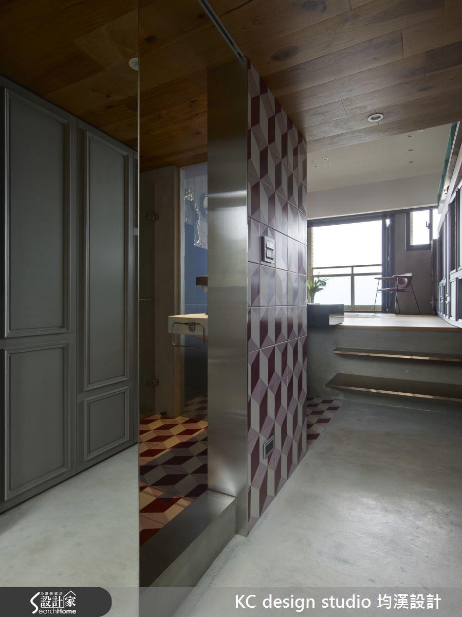 15坪中古屋(5~15年)_工業風玄關案例圖片_KC design studio 均漢設計_KC_15之1