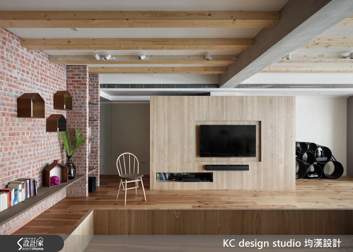 38坪老屋(16~30年)_混搭風客廳案例圖片_KC design studio 均漢設計_KC_16之1