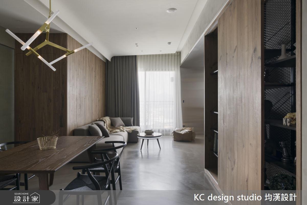 22坪新成屋(5年以下)_現代風客廳餐廳案例圖片_KC design studio 均漢設計_KC_20之6