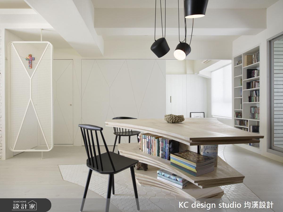 21坪中古屋(5~15年)_北歐風書房案例圖片_KC design studio 均漢設計_KC_21之1