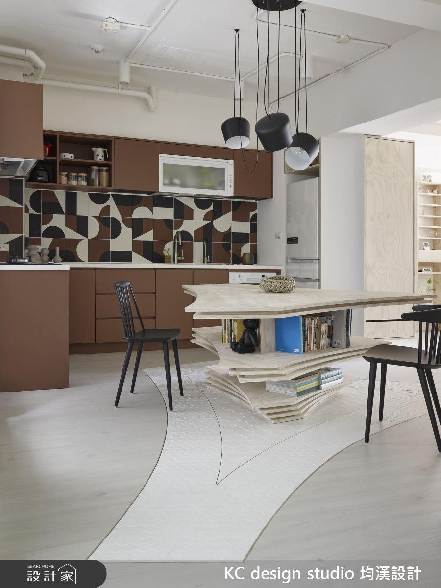 21坪中古屋(5~15年)_北歐風餐廳廚房案例圖片_KC design studio 均漢設計_KC_21之3