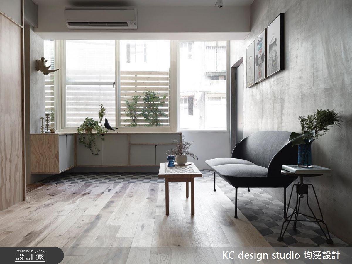 22坪中古屋(5~15年)_北歐風客廳案例圖片_KC design studio 均漢設計_KC_22之3