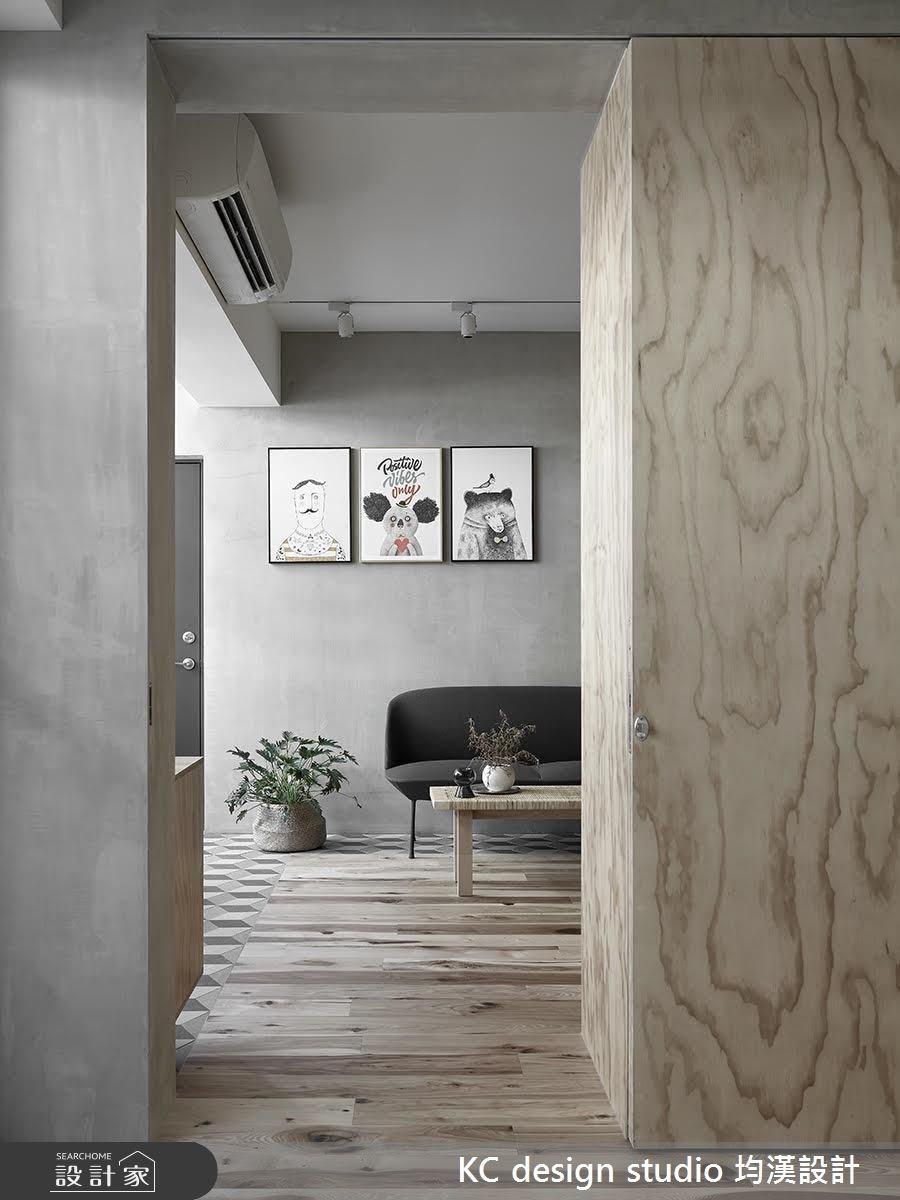 22坪中古屋(5~15年)_北歐風走廊案例圖片_KC design studio 均漢設計_KC_22之4