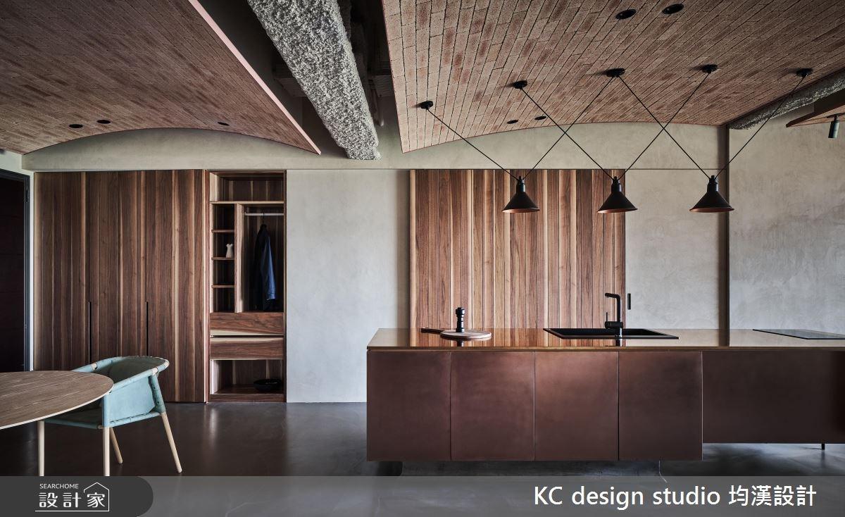 45坪新成屋(5年以下)_混搭風吧檯案例圖片_KC design studio 均漢設計_KC_24之3