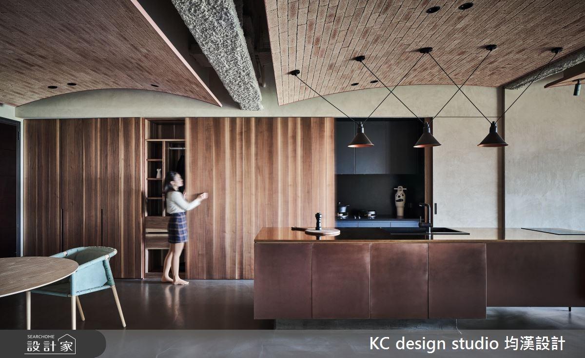 45坪新成屋(5年以下)_混搭風吧檯案例圖片_KC design studio 均漢設計_KC_24之4