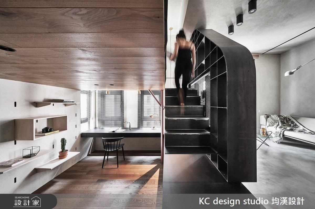 14坪預售屋_工業風客廳案例圖片_KC design studio 均漢設計_KC_25之2
