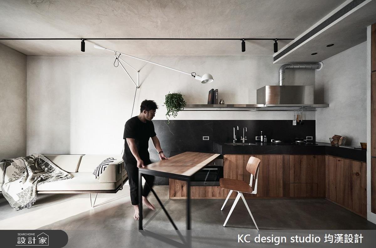 14坪預售屋_工業風餐廳案例圖片_KC design studio 均漢設計_KC_25之9