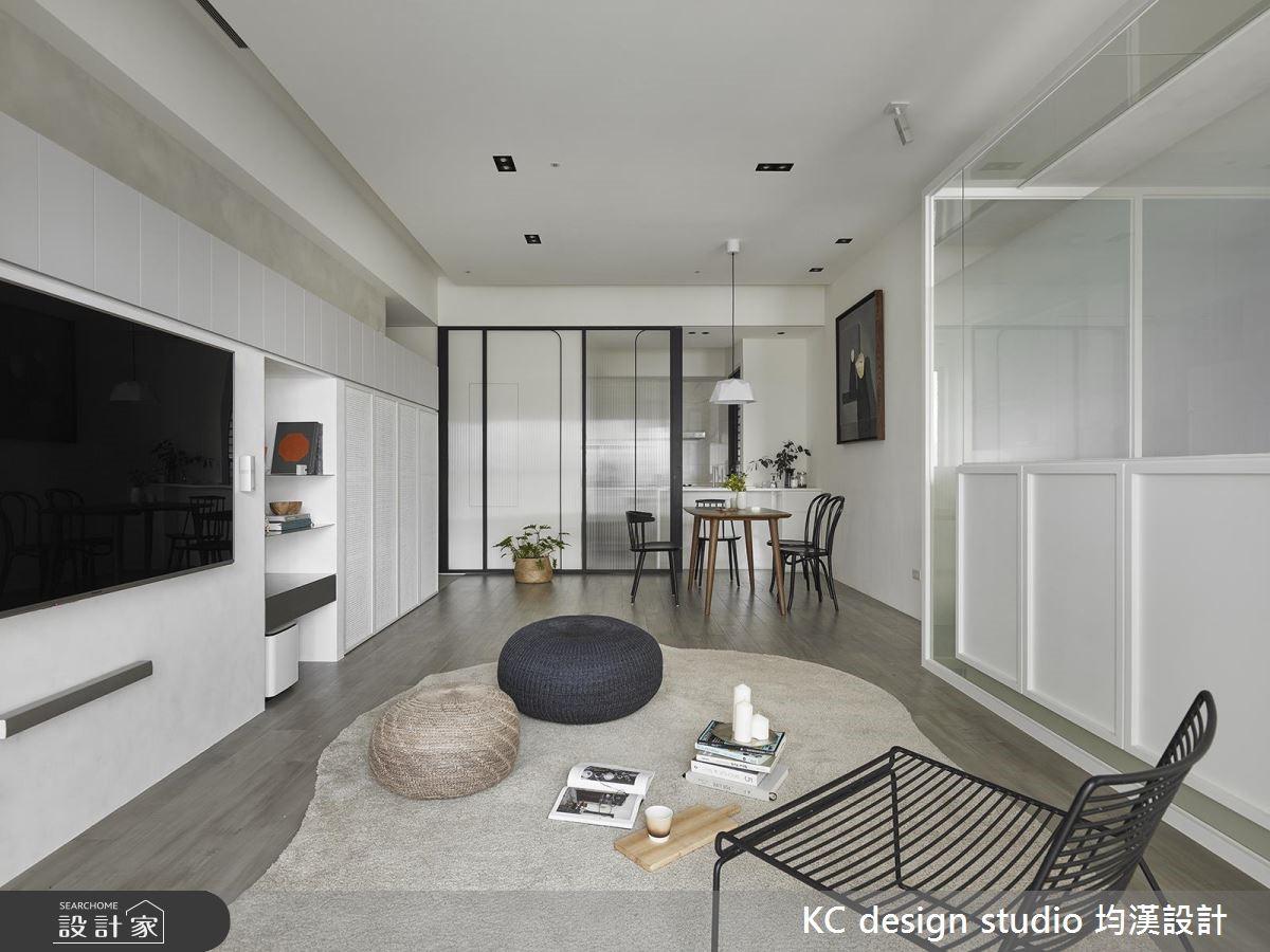 24坪新成屋(5年以下)_北歐風客廳案例圖片_KC design studio 均漢設計_KC_26之4