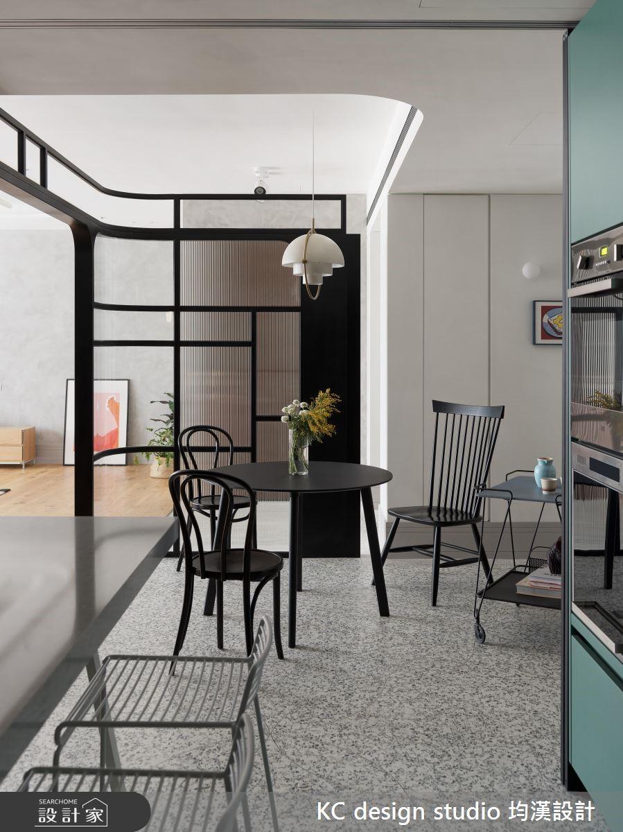 44坪新成屋(5年以下)_新古典餐廳案例圖片_KC design studio 均漢設計_KC_27之5