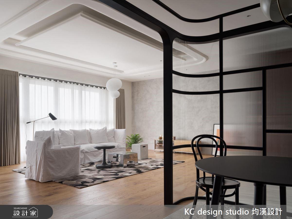 44坪新成屋(5年以下)_新古典客廳案例圖片_KC design studio 均漢設計_KC_27之4