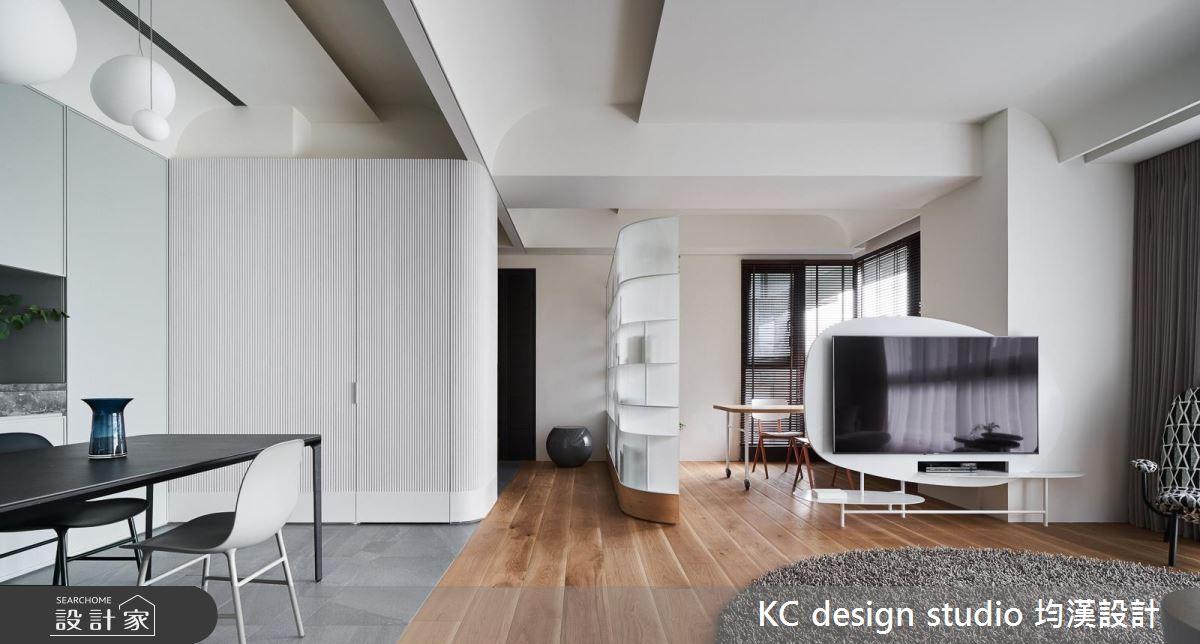 混搭建材、線條、色彩!打造家的趣味流動感