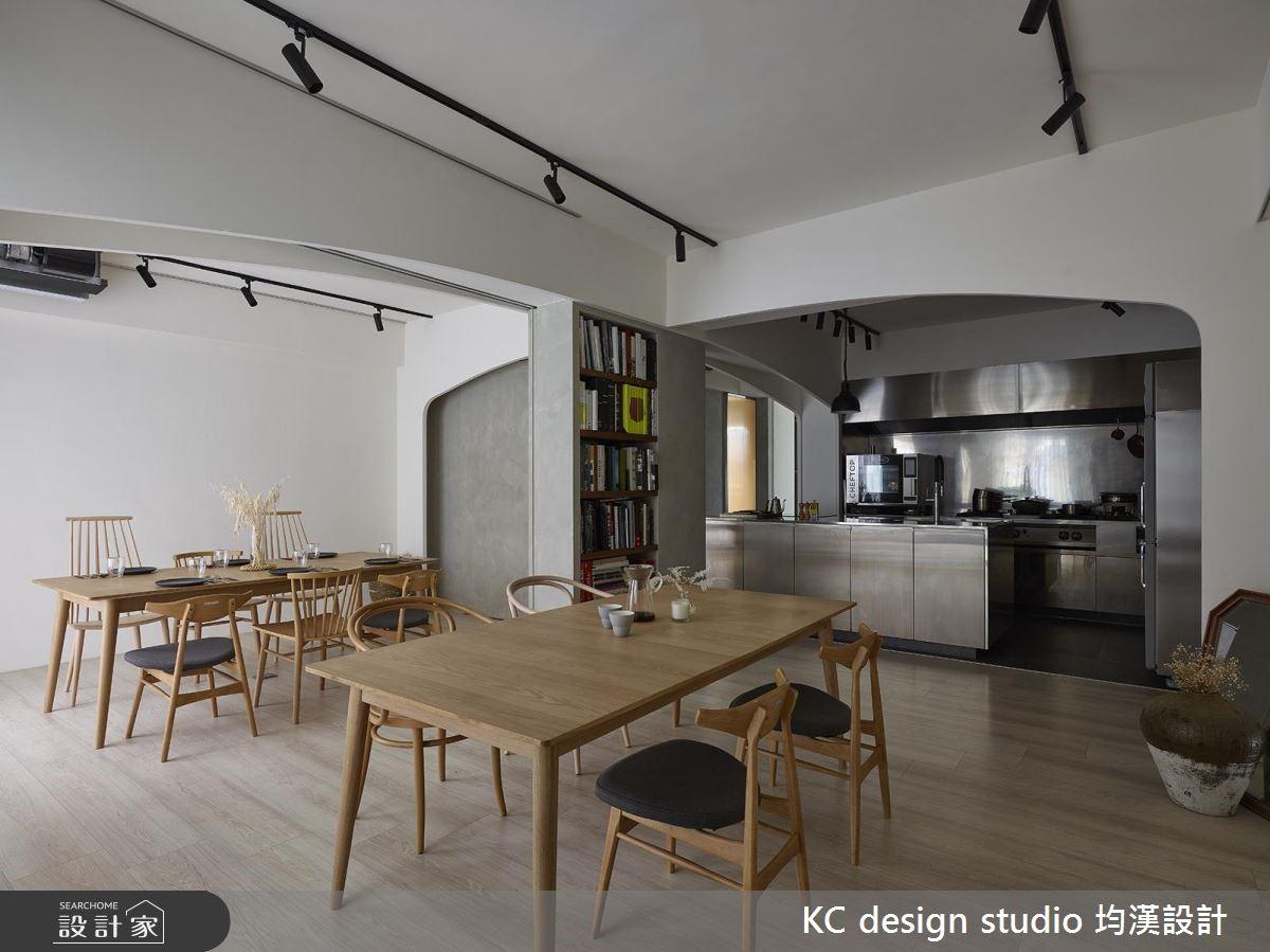 老屋(16~30年)_北歐風餐廳案例圖片_KC design studio 均漢設計_KC_30之2