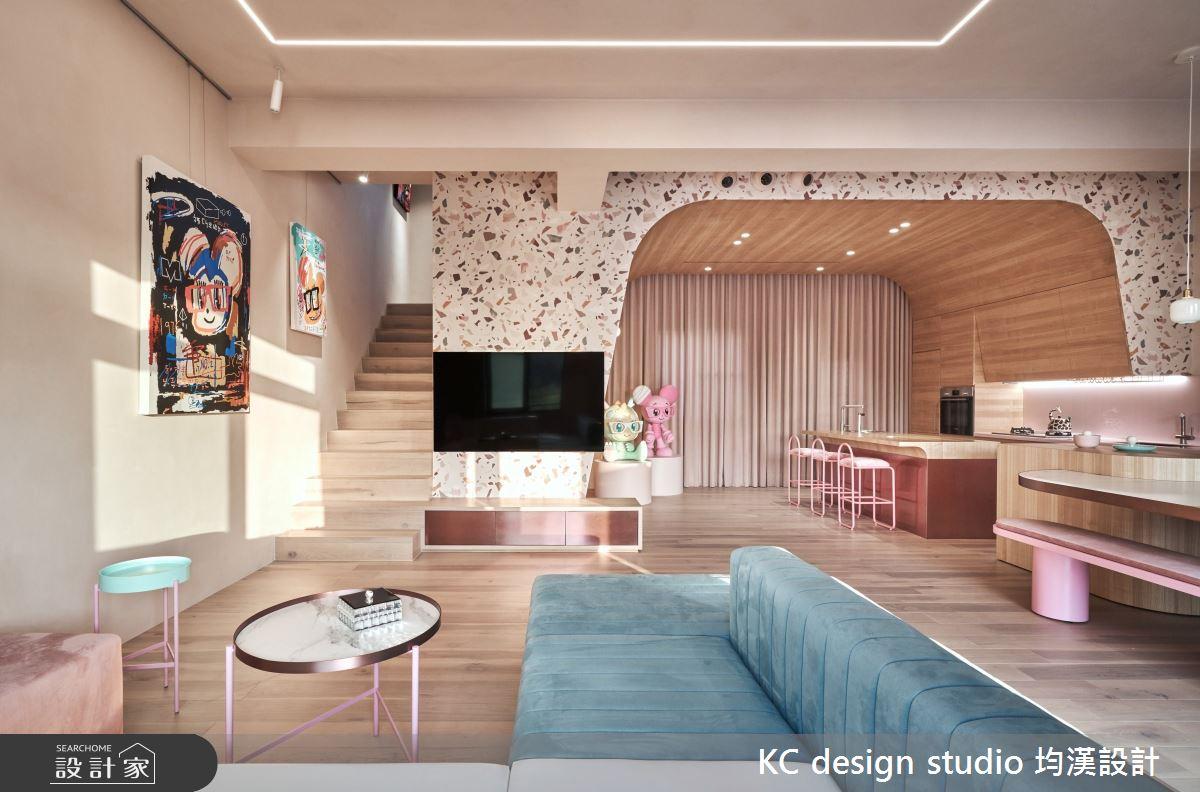新成屋(5年以下)_奢華風客廳案例圖片_KC design studio 均漢設計_KC_32之1