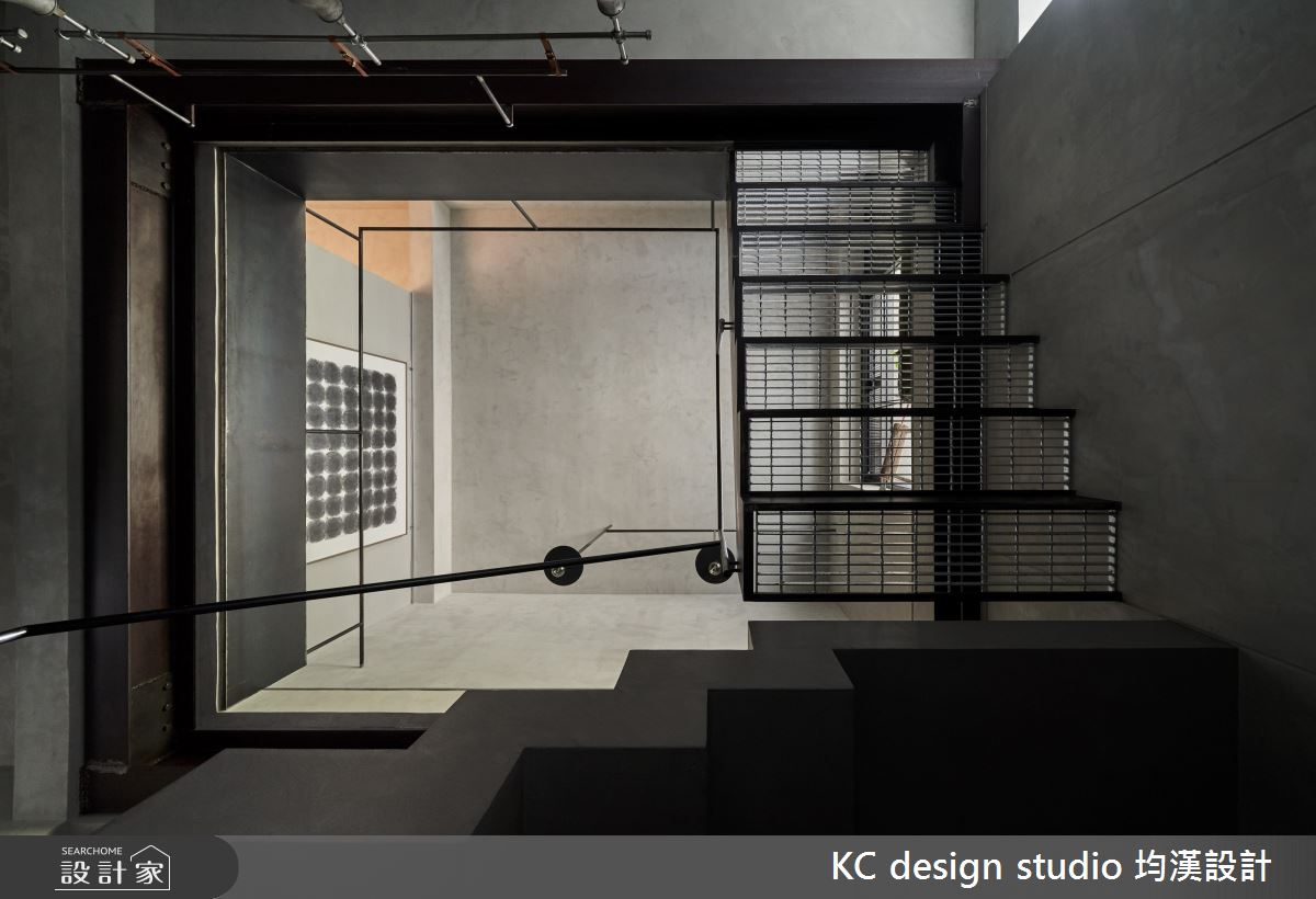 70坪老屋(50年以上)_現代風樓梯案例圖片_KC design studio 均漢設計_KC_36之19
