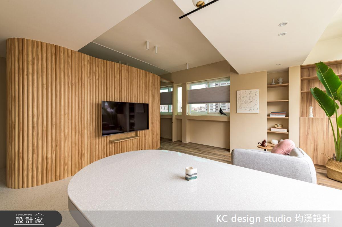 15坪老屋(31~40年)_混搭風客廳餐廳案例圖片_KC design studio 均漢設計_KC_37之4