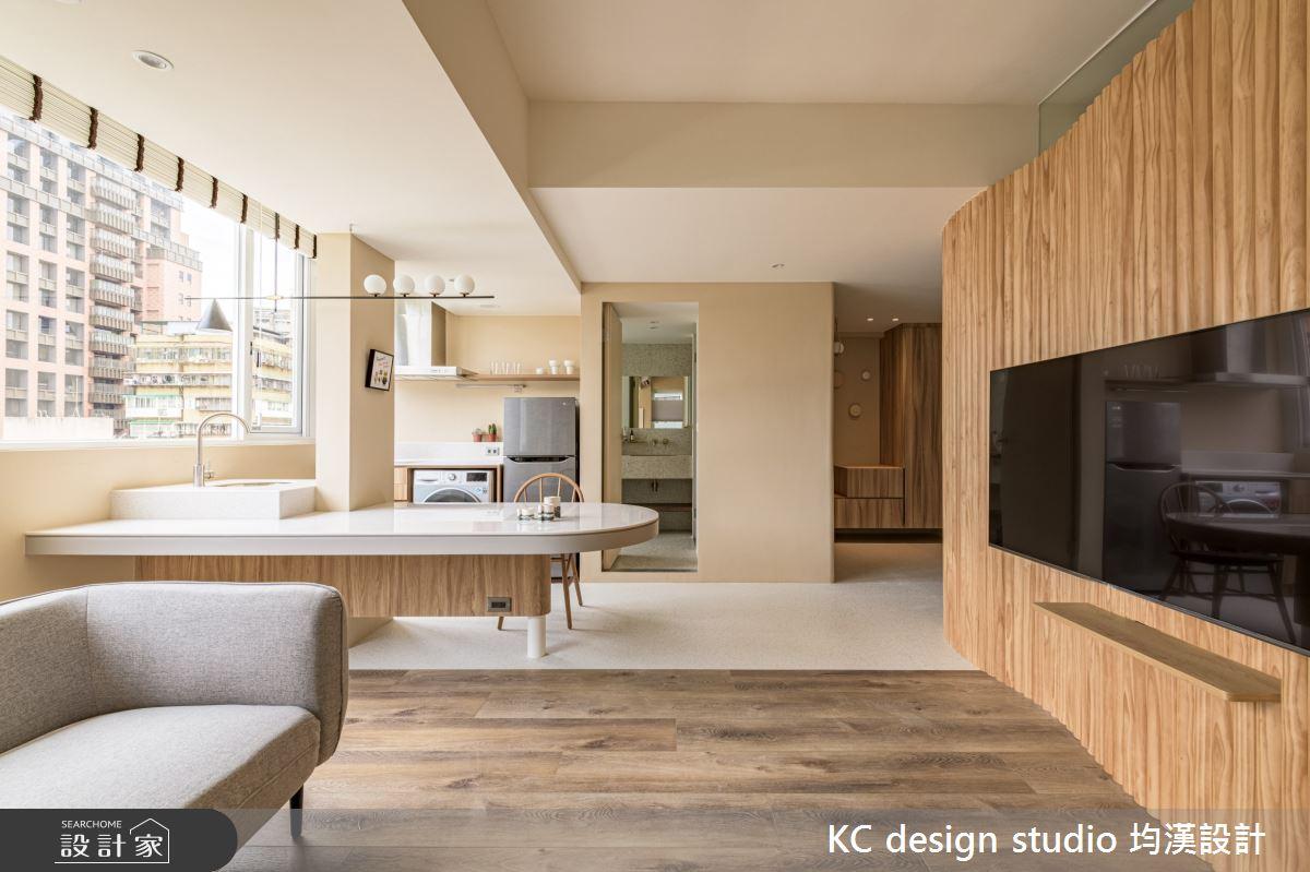 15坪老屋(31~40年)_混搭風客廳案例圖片_KC design studio 均漢設計_KC_37之5