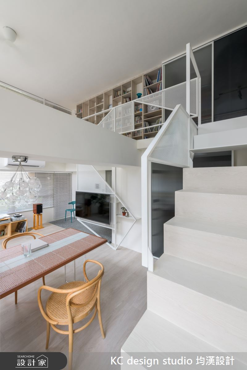 新成屋(5年以下)_現代風餐廳樓梯案例圖片_KC design studio 均漢設計_KC_38之4