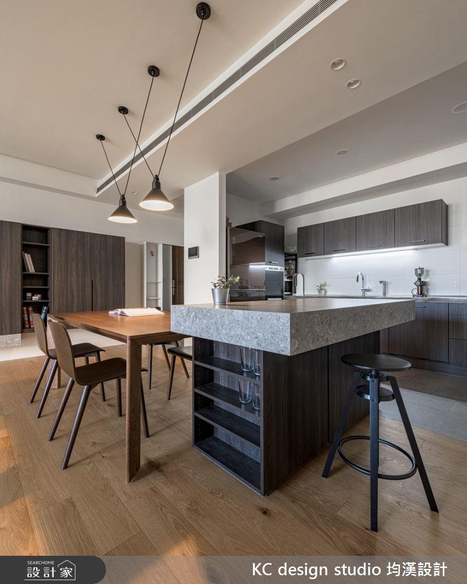 新成屋(5年以下)_現代風餐廳廚房中島案例圖片_KC design studio 均漢設計_KC_39之2