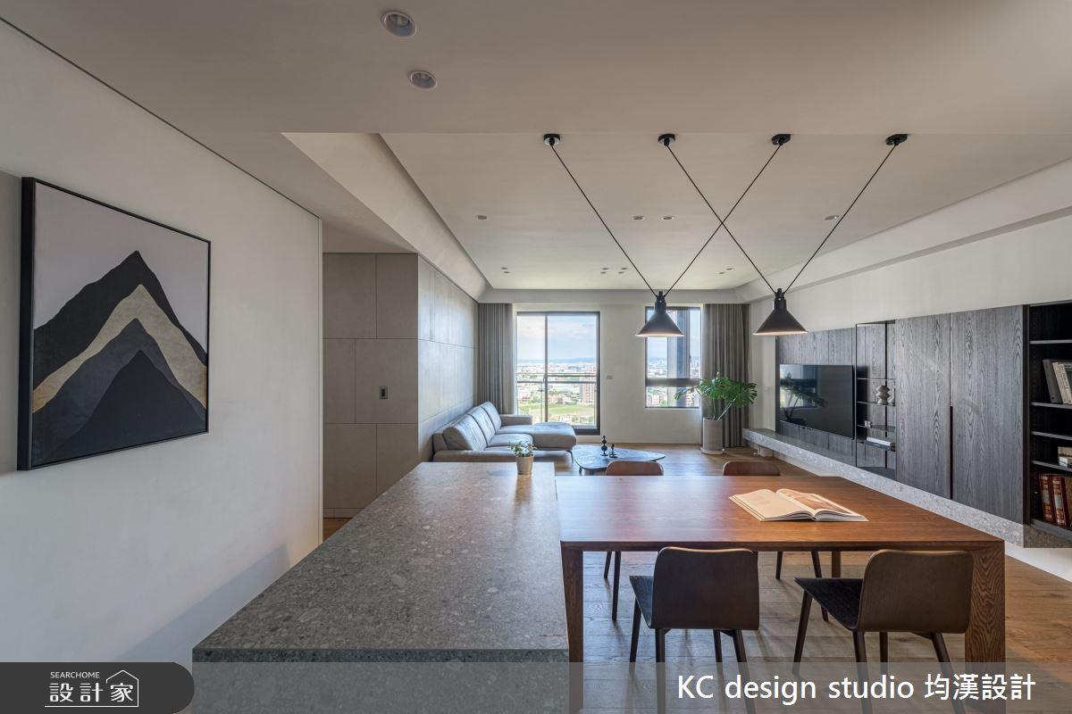 新成屋(5年以下)_現代風客廳餐廳中島案例圖片_KC design studio 均漢設計_KC_39之3