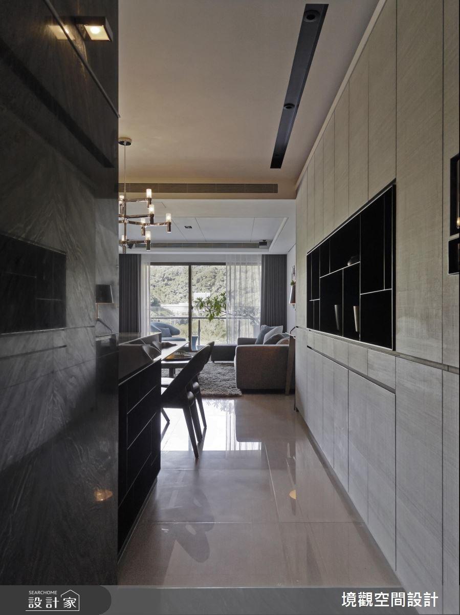 40坪新成屋(5年以下)_現代風玄關客廳案例圖片_境觀空間設計_境觀_11之1