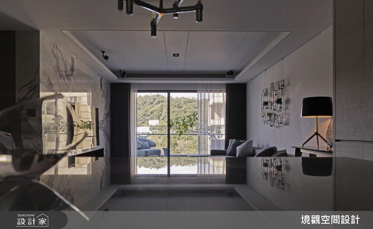 40坪新成屋(5年以下)_現代風客廳案例圖片_境觀空間設計_境觀_11之6