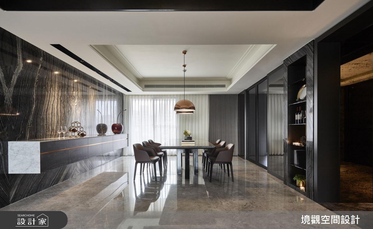 120坪新成屋(5年以下)_現代風餐廳案例圖片_境觀空間設計_境觀_15之3