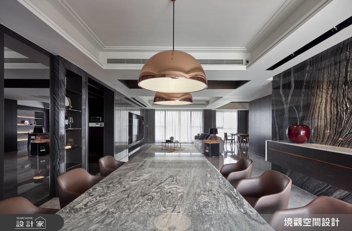120坪新成屋(5年以下)_現代風餐廳案例圖片_境觀空間設計_境觀_15之4