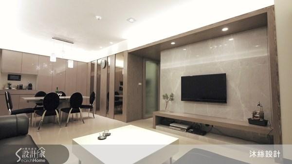 40坪新成屋(5年以下)_現代風案例圖片_沐絲室內裝修有限公司_沐絲_02之1
