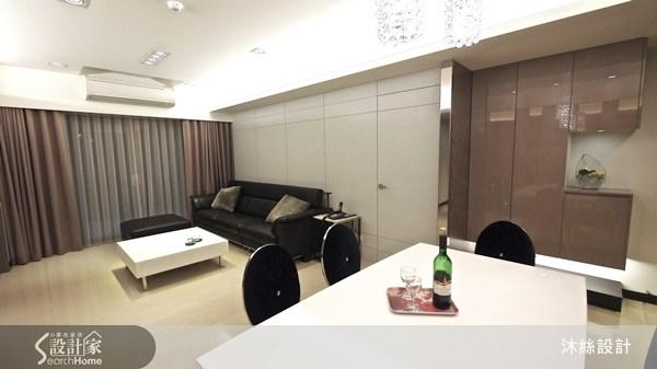 40坪新成屋(5年以下)_現代風案例圖片_沐絲室內裝修有限公司_沐絲_02之3