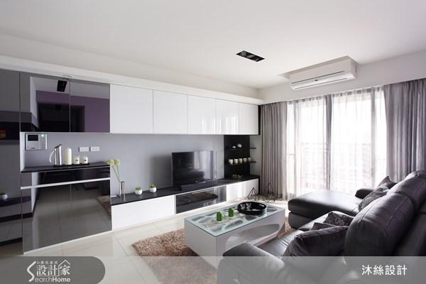 25坪新成屋(5年以下)_現代風案例圖片_沐絲室內裝修有限公司_沐絲_07之2