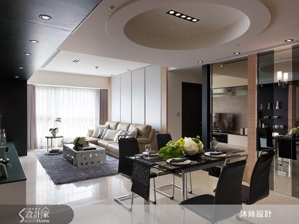 45坪新成屋(5年以下)_現代風案例圖片_沐絲室內裝修有限公司_沐絲_08之1