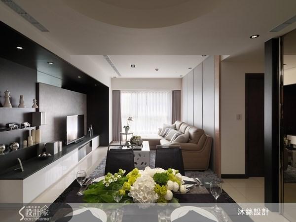45坪新成屋(5年以下)_現代風案例圖片_沐絲室內裝修有限公司_沐絲_08之4