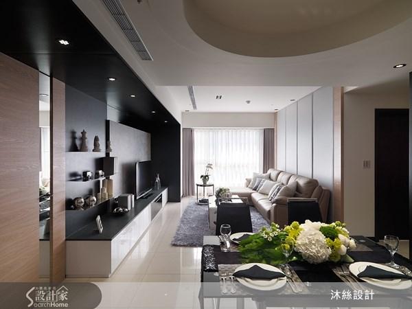 45坪新成屋(5年以下)_現代風案例圖片_沐絲室內裝修有限公司_沐絲_08之3