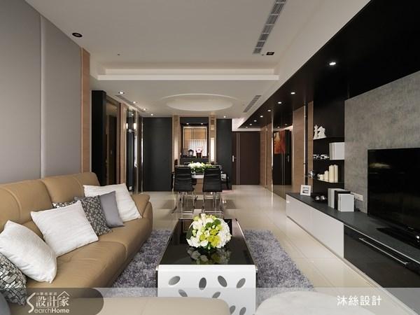 45坪新成屋(5年以下)_現代風案例圖片_沐絲室內裝修有限公司_沐絲_08之11